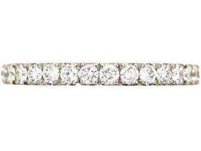 Platinum & Diamond Half Eternity Ring