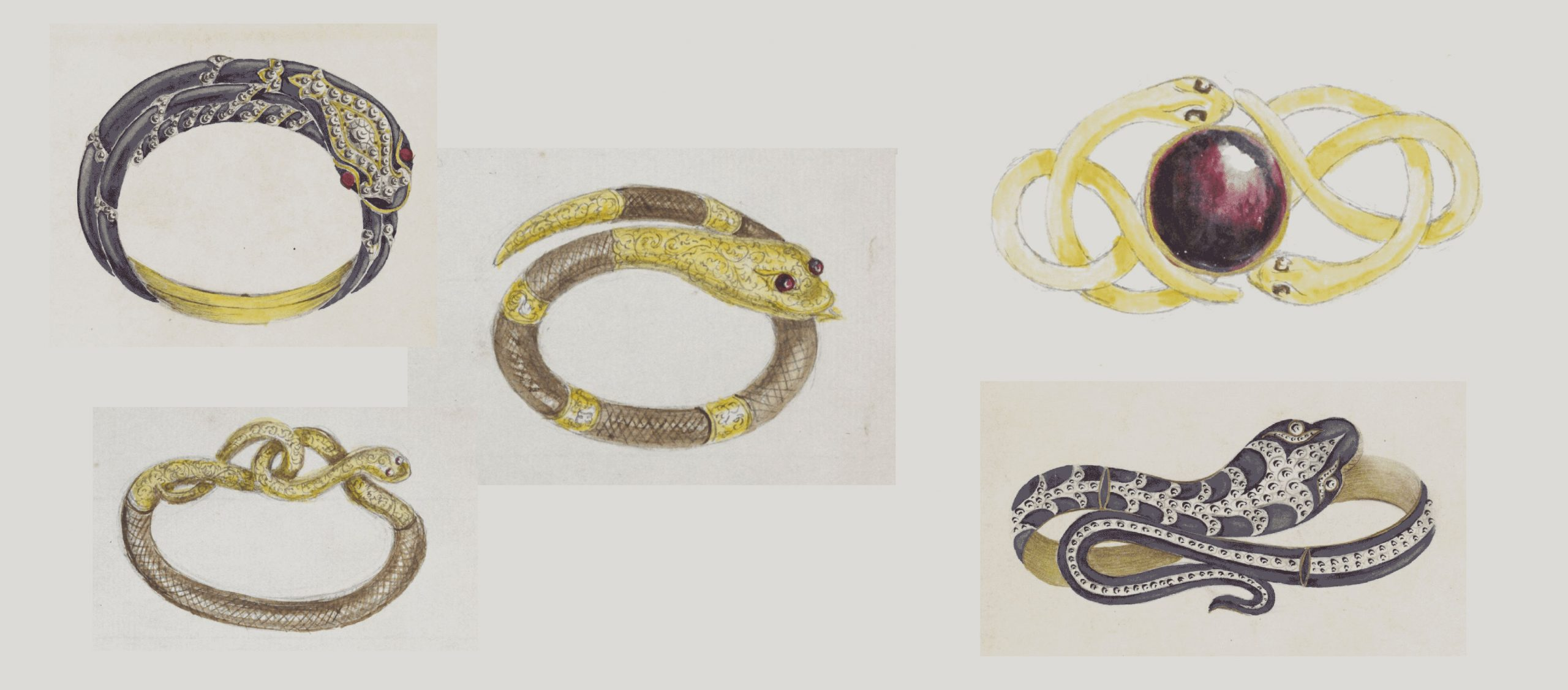 These designs comes from 'The Brogden Album', dating between 1848 and 1884