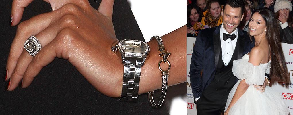 Michelle Keegan engagement ring