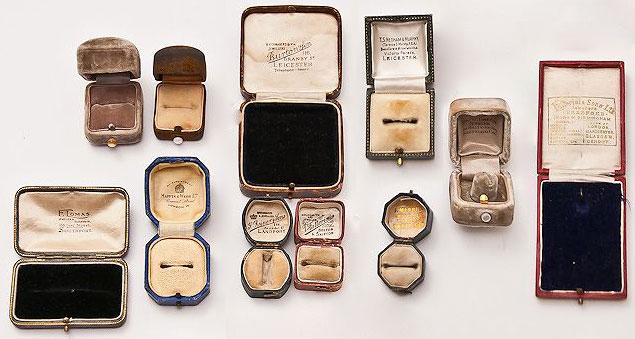 Georgian jewellery boxes