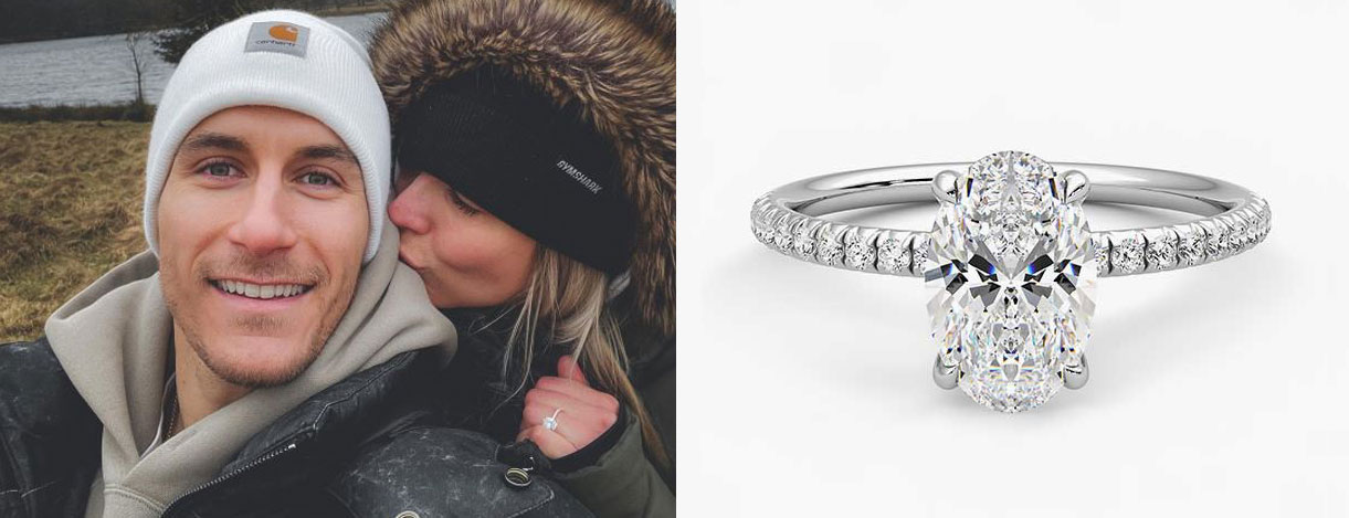 Gemma Atkinson engagement ring