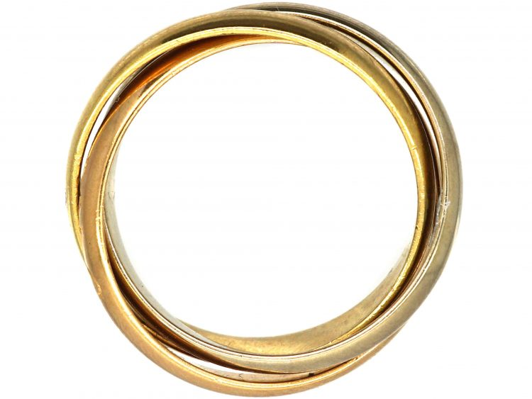 Le Must de Cartier 18ct Gold Russian Wedding Ring
