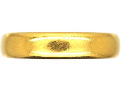 Early 20th Century 22ct Gold Wedding Ring
