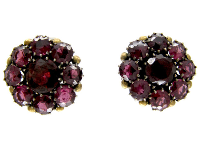 Dorrie Nossiter Garnet Earrings